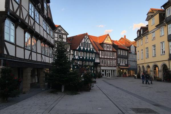 the streets of wolfenbuttel