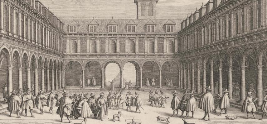 De Beurs van Amsterdam, 1609