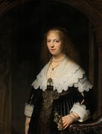 Portrait of a woman by Rembrandt van Rijn, 1639. Collection Rijksmuseum Amsterdam